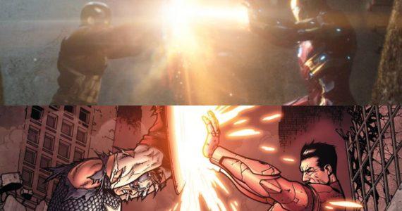 Top 10: Las escenas del MCU que se inspiraron en los cómics
