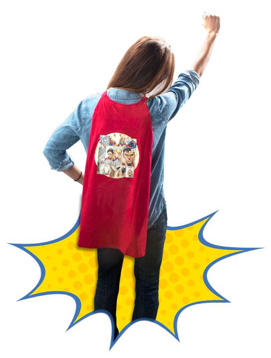 Hazle el regalo perfecto a mamá: la capa de Supermamá
