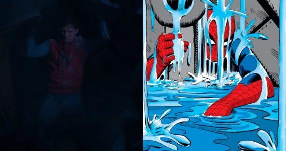 La escena de Spider-Man: Homecoming inspirada en los cómics en nuevo arte conceptual