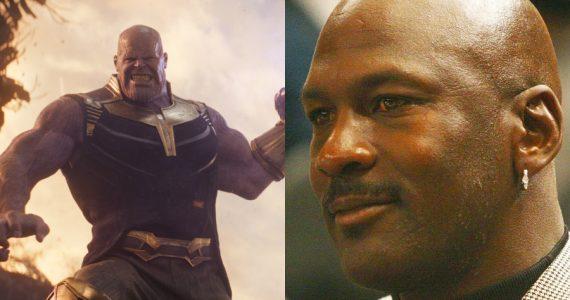 Thanos y Michael Jordan se unen en un arte conceptual