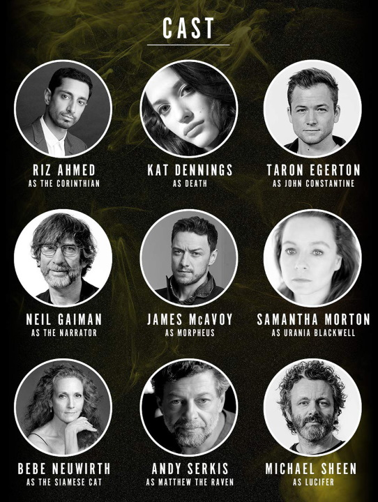 James McAvoy encabeza el elenco de voces de The Sandman