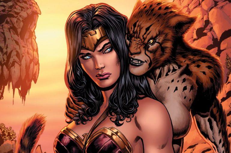 Así luce Cheetah en la mercadotecnia de Wonder Woman 1984
