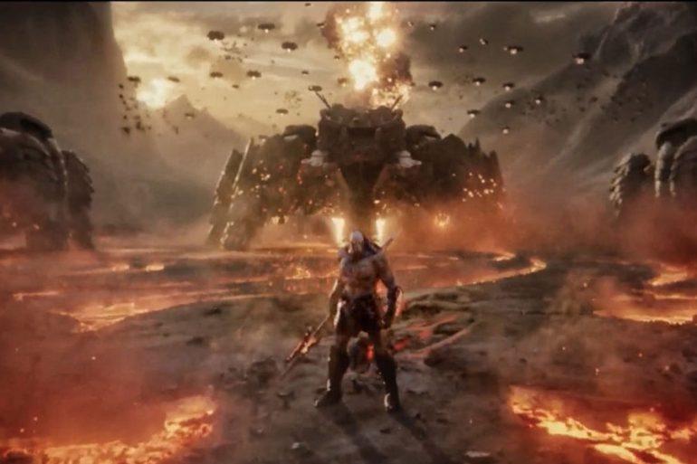 Zack Snyder comparte una imagen de Darkseid para la Liga de la Justicia