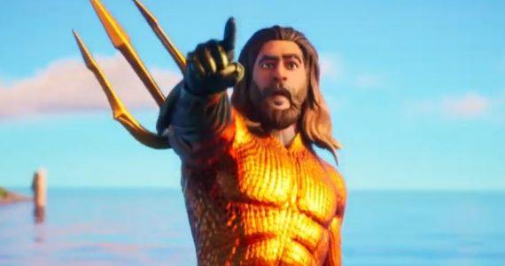 Aquaman navega en las aguas de la temporada 3 de Fortnite