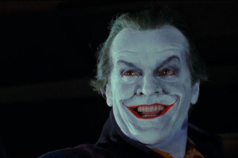 Jack Nicholson se tomó en serio el proceso de maquillaje del Joker en Batman de Tim Burton