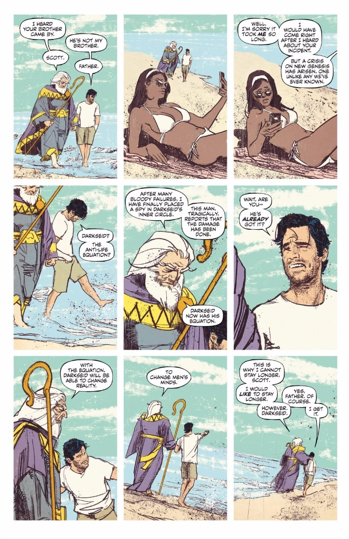 Mister Miracle: aprendiendo a ponerse de pie