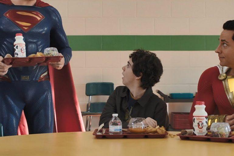 Shazam! ya incluyó a Superman en su escena final (o algo así)
