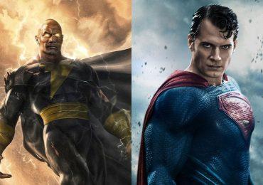 Superman y Black Adam se enfrentan en increíble arte conceptual