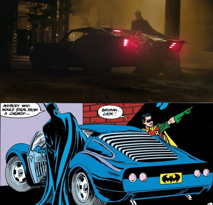 The Batman: Disfruta más detalles del Batimóvil en nuevo arte conceptual