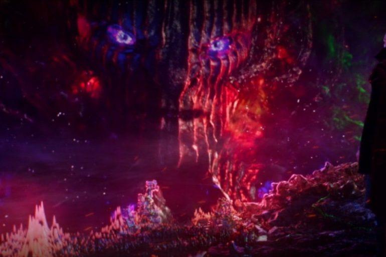 Arte conceptual de Doctor Strange muestra la apariencia inicial de Dormammu