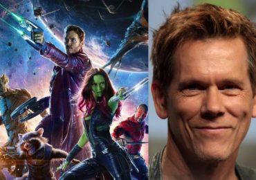 ¿Cómo reaccionó Kevin Bacon al escuchar su nombre en Guardians of the Galaxy?
