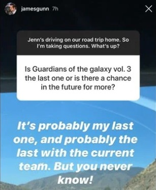 James Gunn no volvería para una cuarta cinta de Guardians of the Galaxy