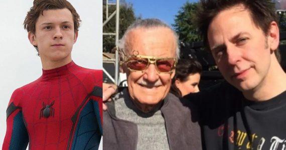 James Gunn revela cómo se conocieron Stan Lee y Tom Holland