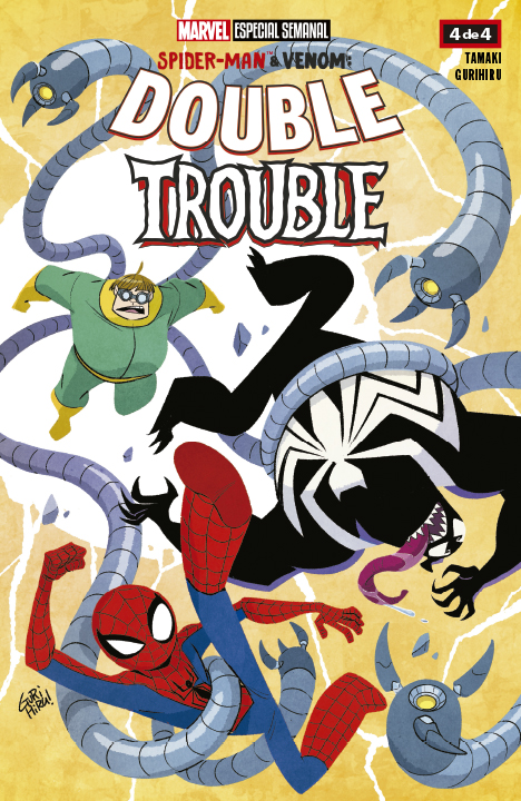 Marvel Semanal: Spider-Man & Venom: Double Trouble #4 (de 4)