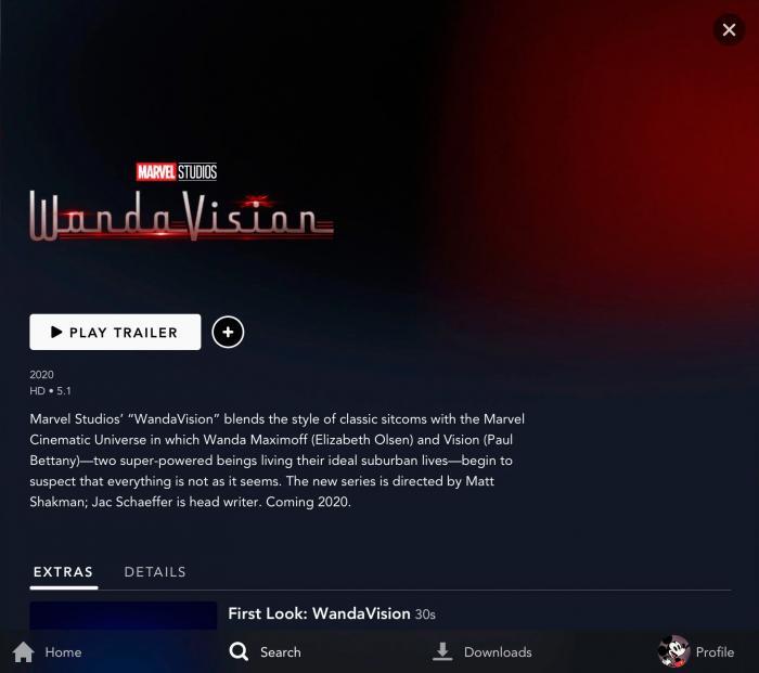 Así lucen las landing pages de las primeras series de Marvel Studios