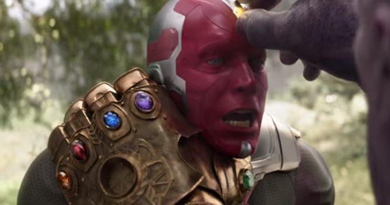 La muerte de Vision pudo ser más brutal en Avengers: Infinity War