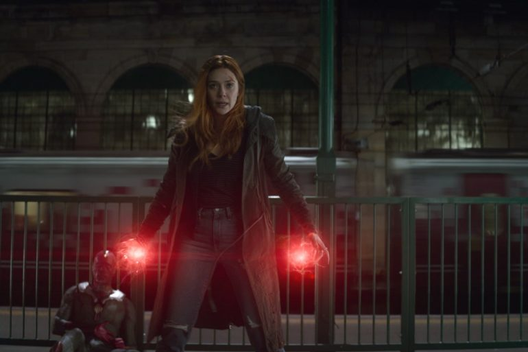 Infnity War: Así se preparó el combate Scarlet Witch y Proxima Midnight