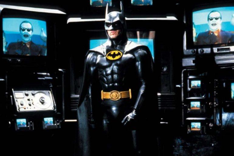 Así lucía el traje de Michael Keaton para una tercera película de Batman