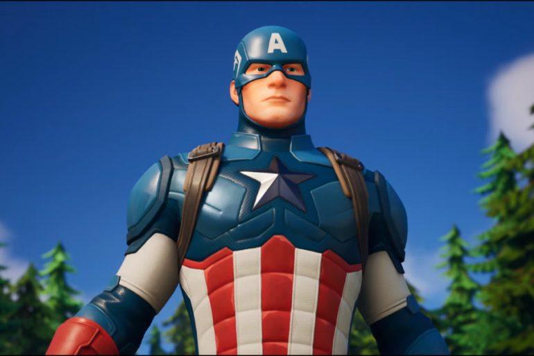 ¡El Capitán América también llegará a Fortnite!