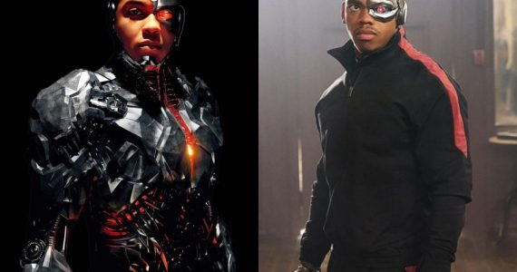 ¡Booyaah! Cyborg (Ray Fisher) admira y defiende a Cyborg (Joivan Wade)