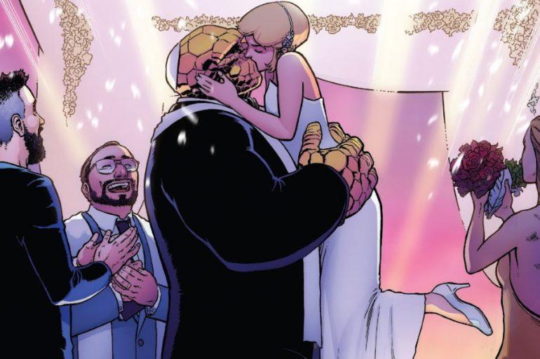 Reed Richards, al rescate de la boda de Ben Grimm
