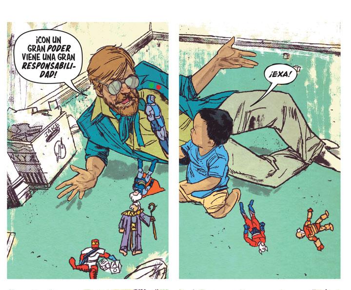 Funky Flashman: el homenaje a Stan Lee en Mister Miracle