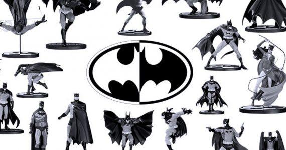 La mejor guía de las figuras de la colección Batman: Black & White