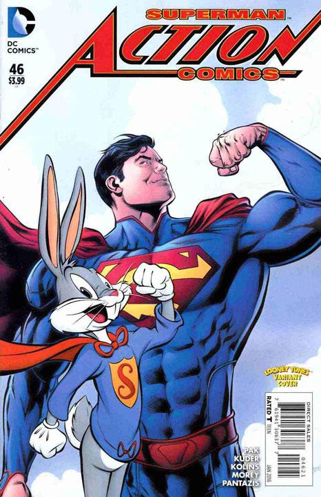 Las visitas de Bugs Bunny al universo DC Comics