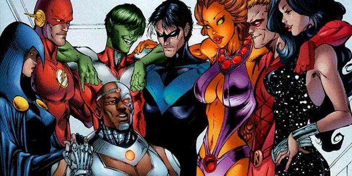 Teen Titans desde la óptica de Marv Wolfman y George Pérez