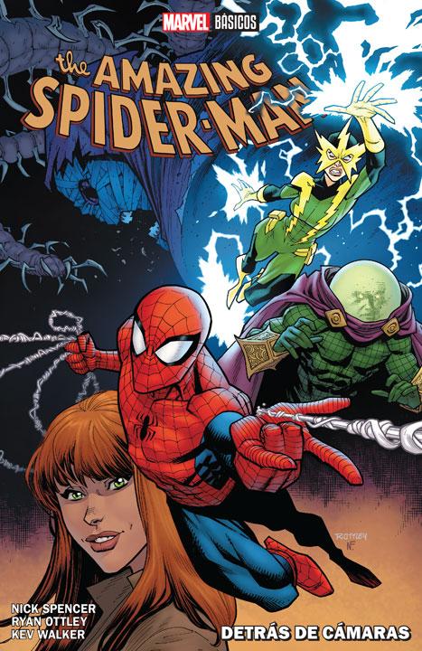 Marvel Básicos - The Amazing Spider-Man: Detrás de Cámaras