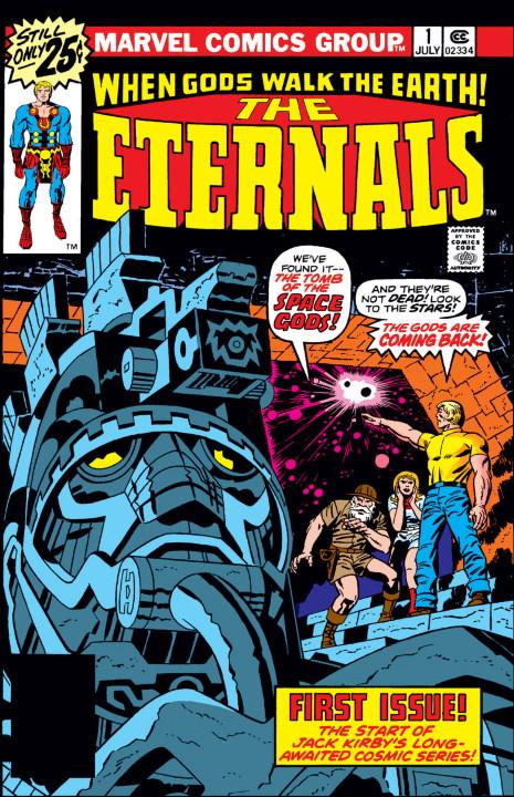 Gilgamesh nos acerca a las filmaciones de The Eternals