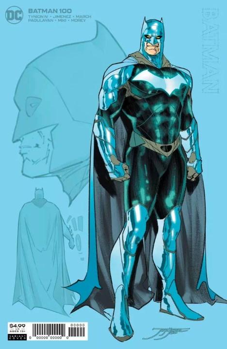 Batman contará con un brillante traje para su número 100