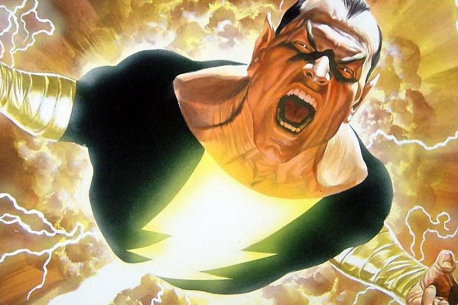 Black Adam ha elegido para su película a su aliado Atom-Smasher