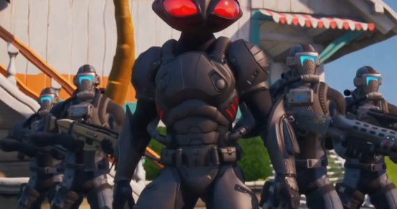 ¡La amenaza de Black Manta también llegó a Fortnite!