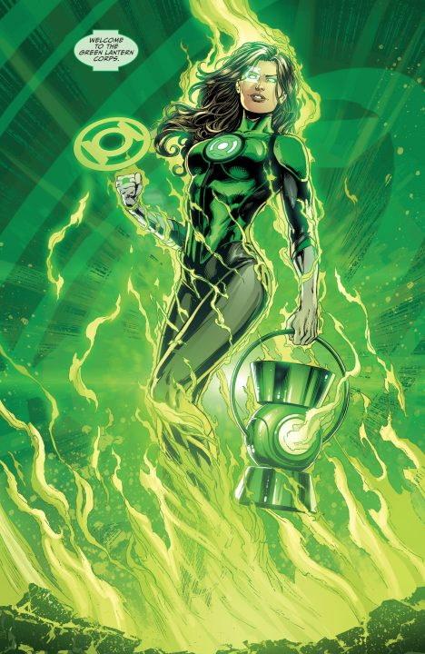 ¡Diane Guerrero quiere interpretar a la Green Lantern Jessica Cruz!
