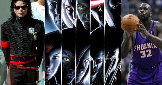Michael Jackson y Shaquille O'Neal quisieron actuar en X-Men