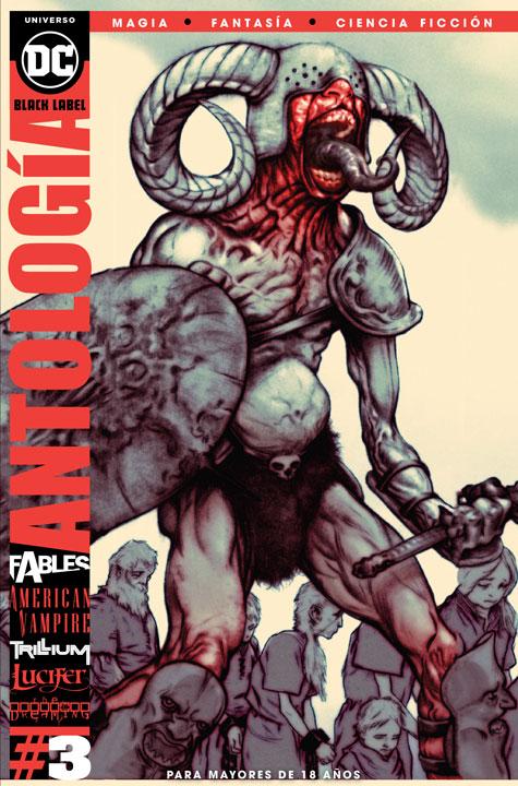 DC Black Label: Antología Magia, Fantasía y Ciencia Ficción #3