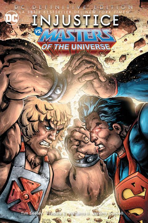 De la tienda de Smash: DC Definitive Edition – Injustice vs. Masters of The universe