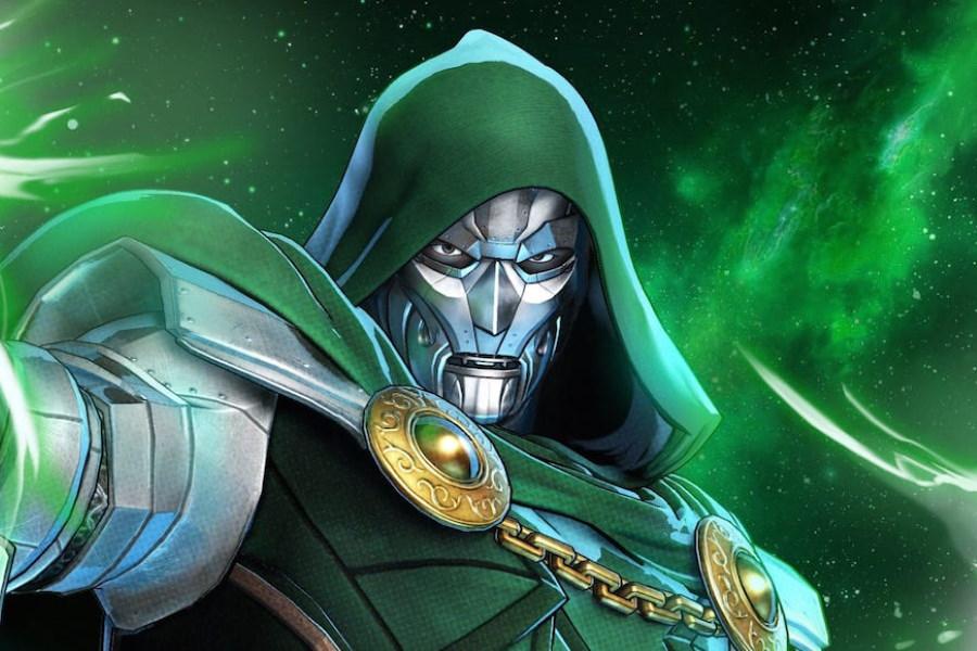 El Doctor Doom se adueña del Guantelete del Infinito en arte conceptual
