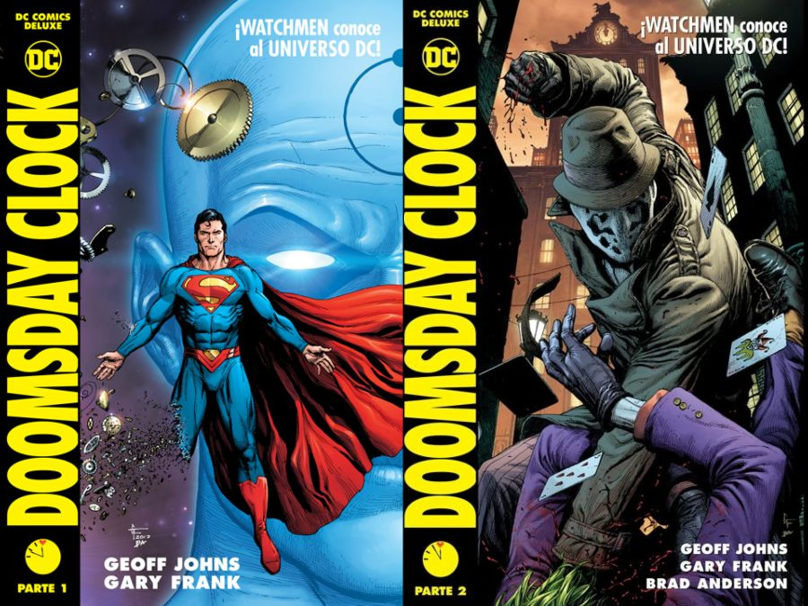 Doomsday Clock, Volúmenes 1 y 2