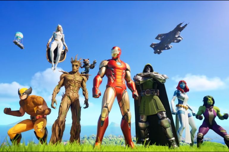 El Universo Marvel se luce en el tráiler de Fortnite: Nexus War