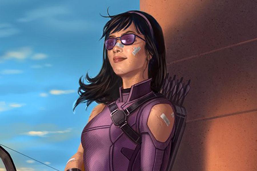 Hawkeye: un artista de Marvel compartió un arte conceptual de Kate Bishop