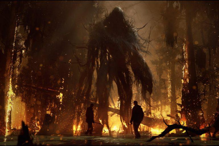 Así lucía Swamp Thing para la película Justice League Dark