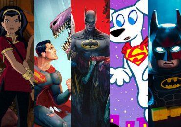 Las películas animadas de DC que veremos este año y más