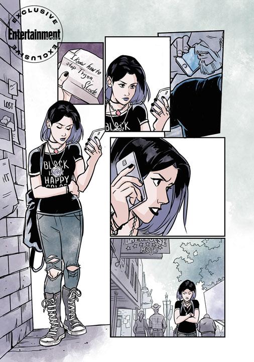 Primer vistazo a Teen Titans: Beast Boy Loves Raven