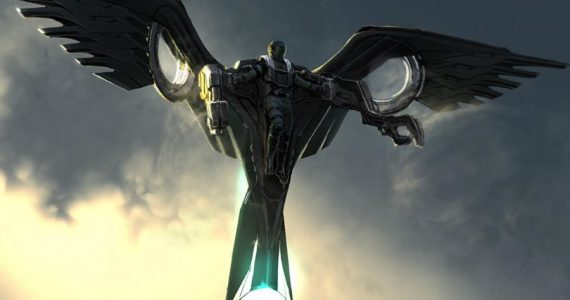 Arte conceptual revela armadura inédita de The Vulture en Spider-Man: Homecoming