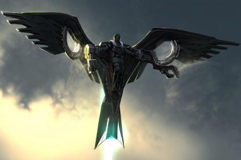 Arte conceptual revela armadura inédita de The Vulture en Spider-Man: Homecoming
