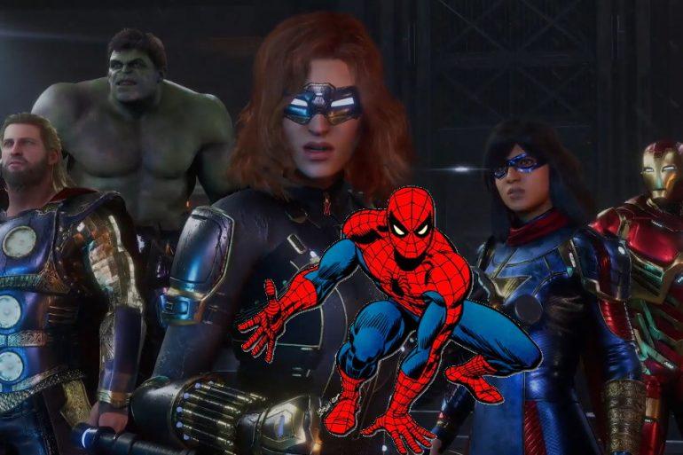 ¡Spider-Man se une al videojuego de Marvel's Avengers!
