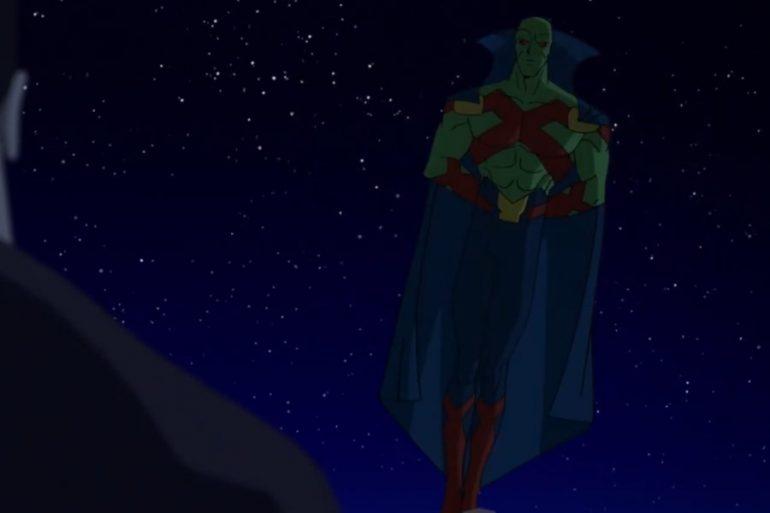 Martian Manhunter se presenta en nuevo clip de Superman: Man of Tomorrow