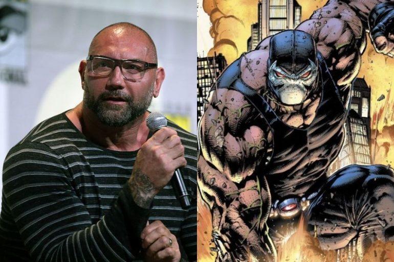 Dave Bautista buscó interpretar a Bane en The Batman